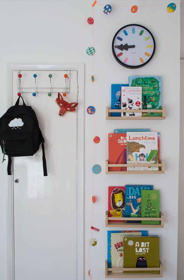 Bright_Renter_Friendly_Kids_Room_Decor_Styling_IKEA_Book_Storage