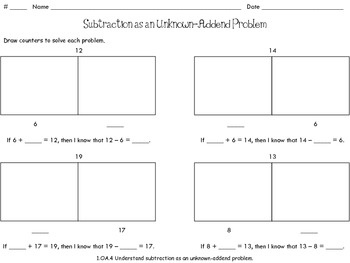 1000+ images about Math: 1.OA on Pinterest   Fact families, Making ...