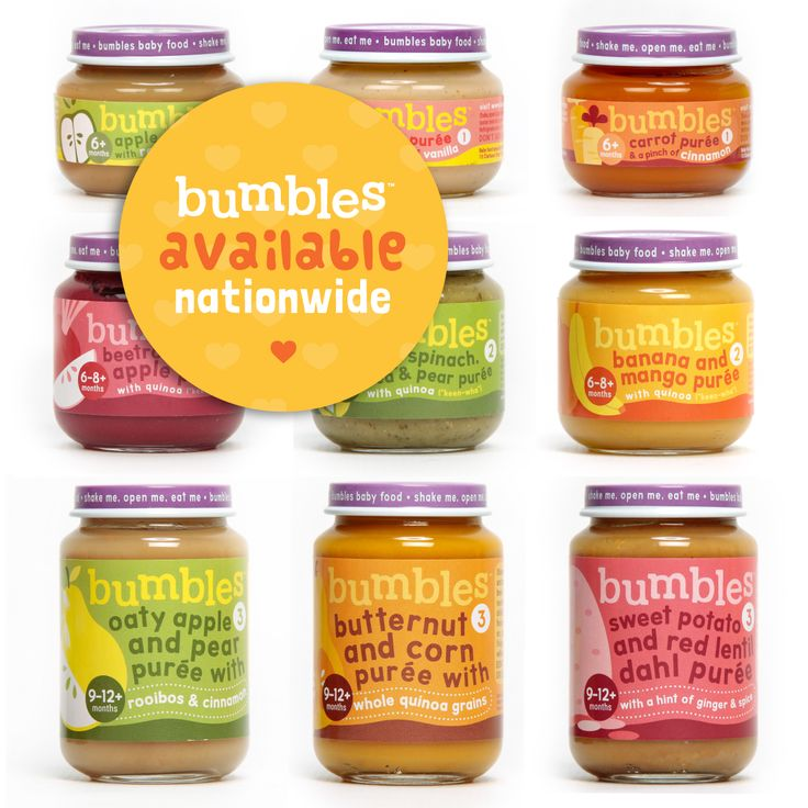 The Bumbles Baby Food Range now available nationwide.  Visit our new stockists page http://ow.ly/LbJxt