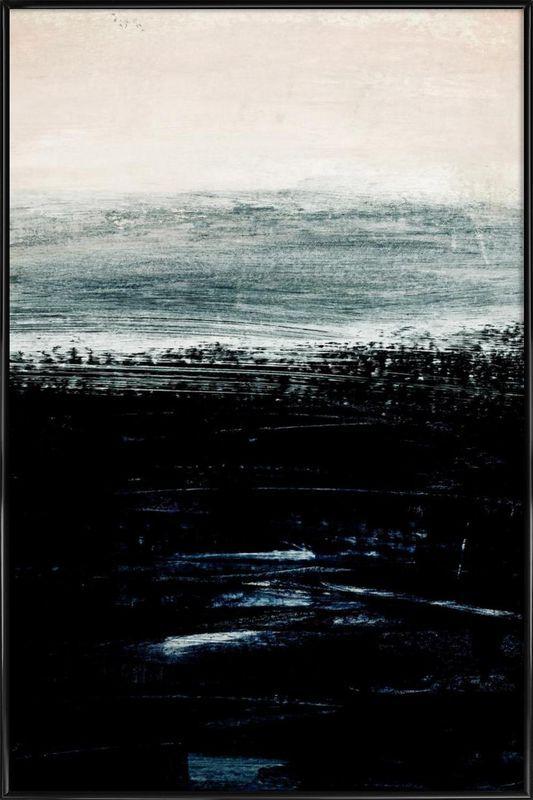 Minimalist Landscape 3 as Poster in Standard Frame | JUNIQE UK