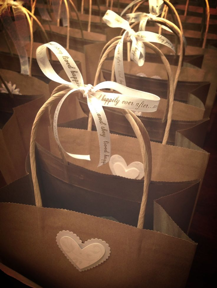 Guest Bags To Be Passed Out At The Hotelfound Ribbon