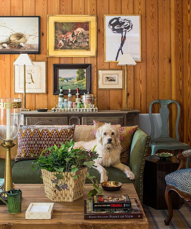 20 Decorating Ideas From The Southern Living Idea House: 20 Best Decorating A Room With Knotty Pine Walls Images On