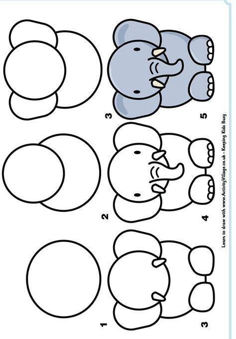 17 meilleures id es propos de dessin d animaux facile - Chat facile et gratuit ...
