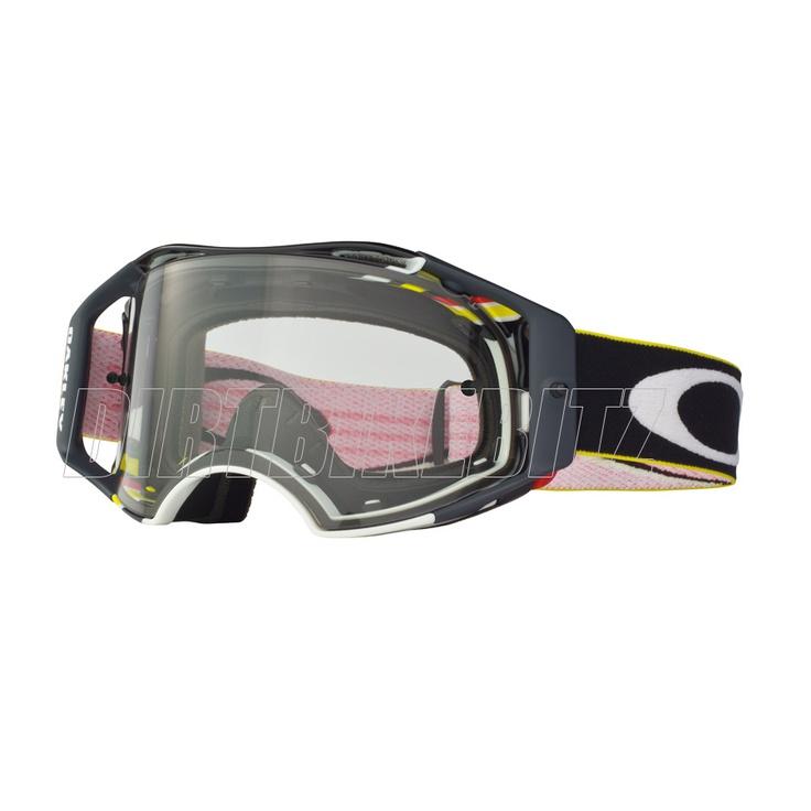 2013 Oakley Airbrake Mx Goggles - Pinned Gsr Airbrake Goggle - 2013 Oakley Airbrake Mx Goggles - 2013 Motocross Gear - by