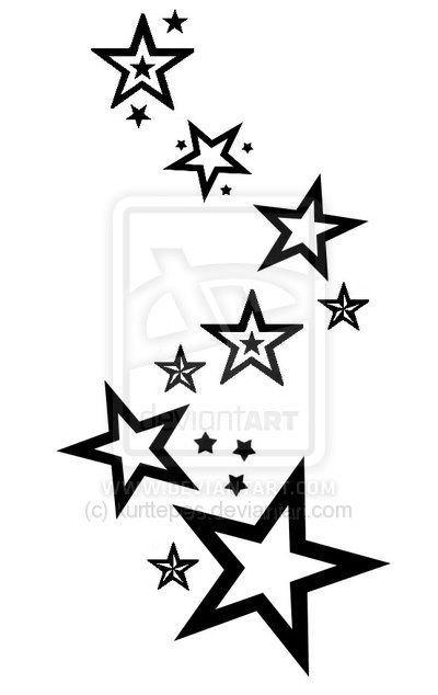 42 best moon and shooting star tattoos templates images on star tattoos shooting star tattoos and stars on pinterest urmus Image collections
