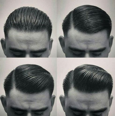 Slicked-back-hairstyle Short Haircuts & Hairstyles For Men 2016