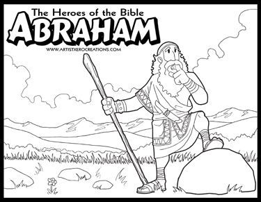 55 best Heroes of the Bible Coloring Pages images on Pinterest ...