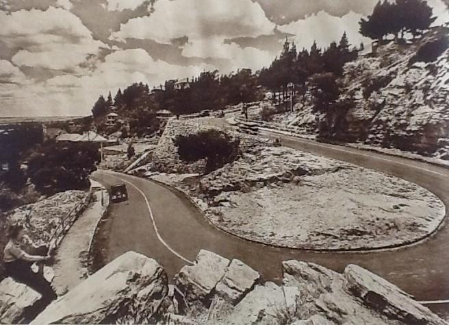 Munro Drive - 1936 City Publicity Brochure -  Three Historic Johannesburg Passes