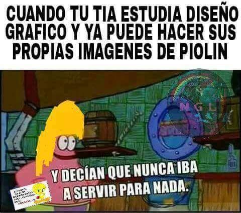 ★★★★★ Memes graciosos en español: Tu tía estudiando diseño I➨ http://www.diverint.com/memes-graciosos-espanol-tia-estudiando-diseno/ →  #imágenesdememeschistososparafacebook #imágenesgraciosasdelosmemesenespañol #memesdivertidosfacebook #memesdivertidosparawhatsapp #memesgraciosos