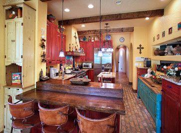 Best 25 southwest kitchen ideas on pinterest farm sink for Mexican kitchen color schemes