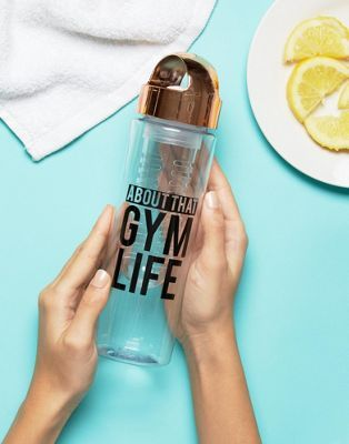 New Look Gym Life Infuser Water Bottle