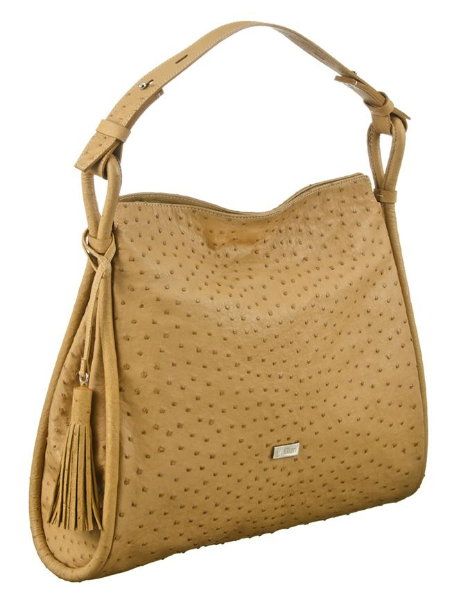 Khari Bag Barcelona / Material Ostrich Leather / Dimensions x38 x h34 x d8