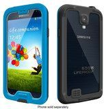 LifeProof - nüüd Case for Samsung Galaxy S 4 Cell Phones - Cyan/Black (Blue/Black)