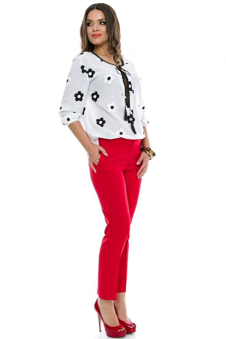 Pantaloni Madison Rosii 119 lei Pantaloni eleganti