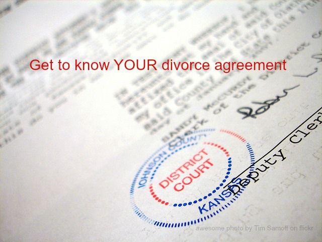 44 best DIVORCE BLOG POSTS images on Pinterest Divorce, Law and - divorce agreement