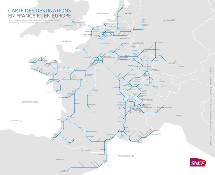 Paris to other cities train guide