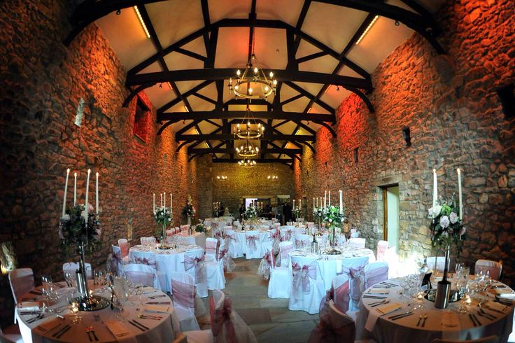 Browsholme Hall Tithe Barn Exclusive Private Wedding Venue