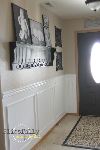 Blissfully Ever After How To Paint A Door Without Brush Marks Decorating Ideas Pinterest