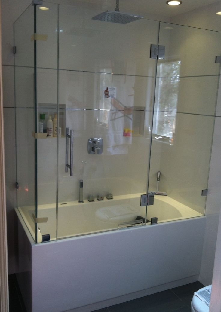 Best 25 Bathtub Enclosures Ideas On Pinterest Glass