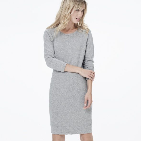 VINTAGE FLEECE SWEATSHIRT DRESS
