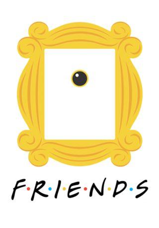 Poster Poster F.R.I.E.N.D.S do Studio Apenasimagine por R$55,00 #friends #série #posterfriends