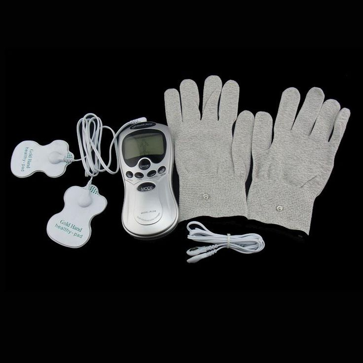 Health Care Tens Acupuncture Electric Digital Therapy Massage With Gloves, Item Type: Massage & Relaxation Material: Cotton, ABS Application: Hand Size: Medium Model Number: Therapy Massage Size: Massage Gloves    · Arthritis of the hand · Raynauds Syndrome · Repetitive Strain Injury · Carpal Tunnel Syndrome · General pain in the hand · Poor circulation    Package Included: 1 x Digital therapy machine 2 xElectrode pads 2 x 2 way pad wire 1 x Glove (1 pair) 1 x Power adapter(us or EU) We will…