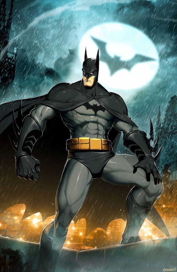 Batman by GENZOMANDigital Illustration, Comics Book, Videos Games, Fans Art, Super Heroes, Games Art, Batman Art, Dark Knights, Art Illustration