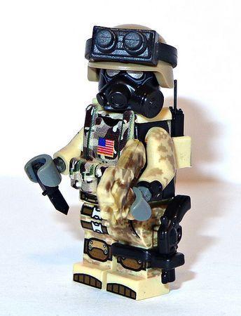 Lego modern combat desert unit!