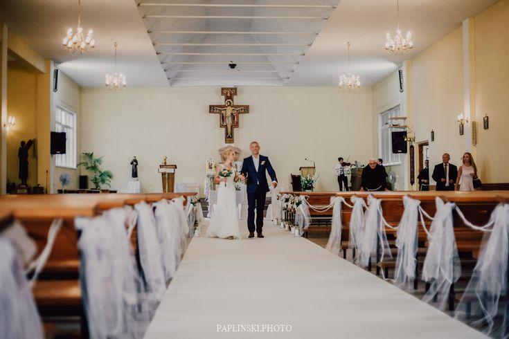 ceremonia zaślubin, biały dywan