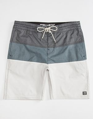 BILLABONG Tribong Interchange Lo Tides Mens Boardshorts Black