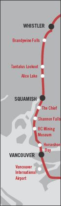 Whistler Blackcomb - Driving to Whistler: A Sea to Sky Journey - Whistler, BC