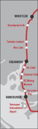 Whistler Blackcomb - Driving to Whistler: A Sea to Sky Journey - Whistler, BC