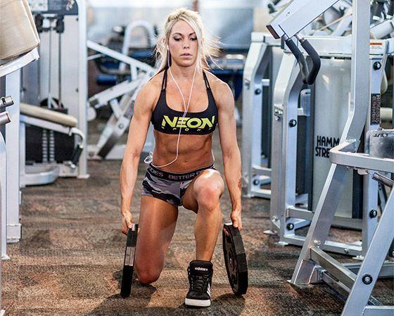 Build Legs You'll Love: Ashley Hoffmann's Leg Workout