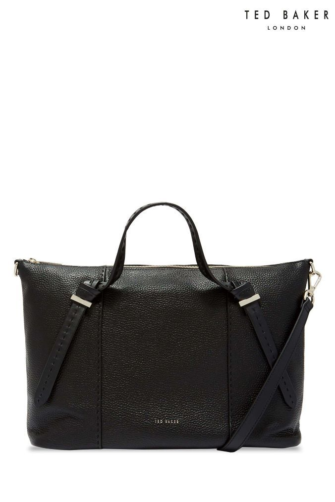 99fbea5dda467a Womens Ted Baker Oellie Black Handbag - Black  womensblackhandbags ...