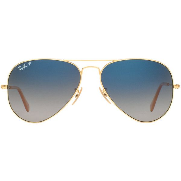 Ray-Ban RB3025 58 ORIGINAL AVIATOR Sunglasses found on Polyvore