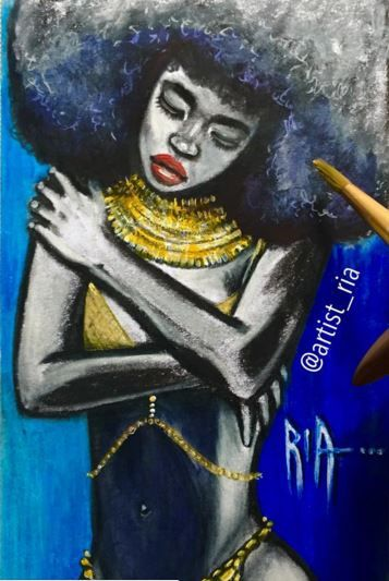 8 Fabulous Pieces From Artist Ria On Instagram You Just Have To See