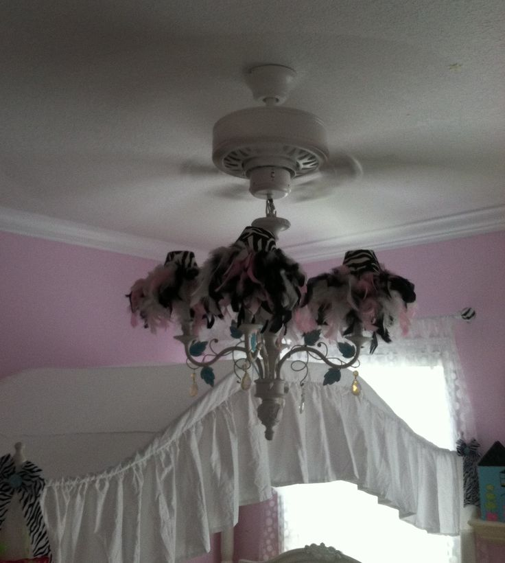 18 best images about chandelier ceiling fans on pinterest antiques chandelier lighting and - Girl ceiling fans with chandelier ...