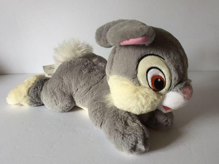Disney Parks Thumper the Rabbit Plush Stuffed Animal Toy Bambi 15 inches NEW    eBay