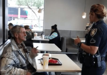 South Carolina Police Tell Homeless Man To Get Out Of McDonald's After Stranger Paid For His Meal
