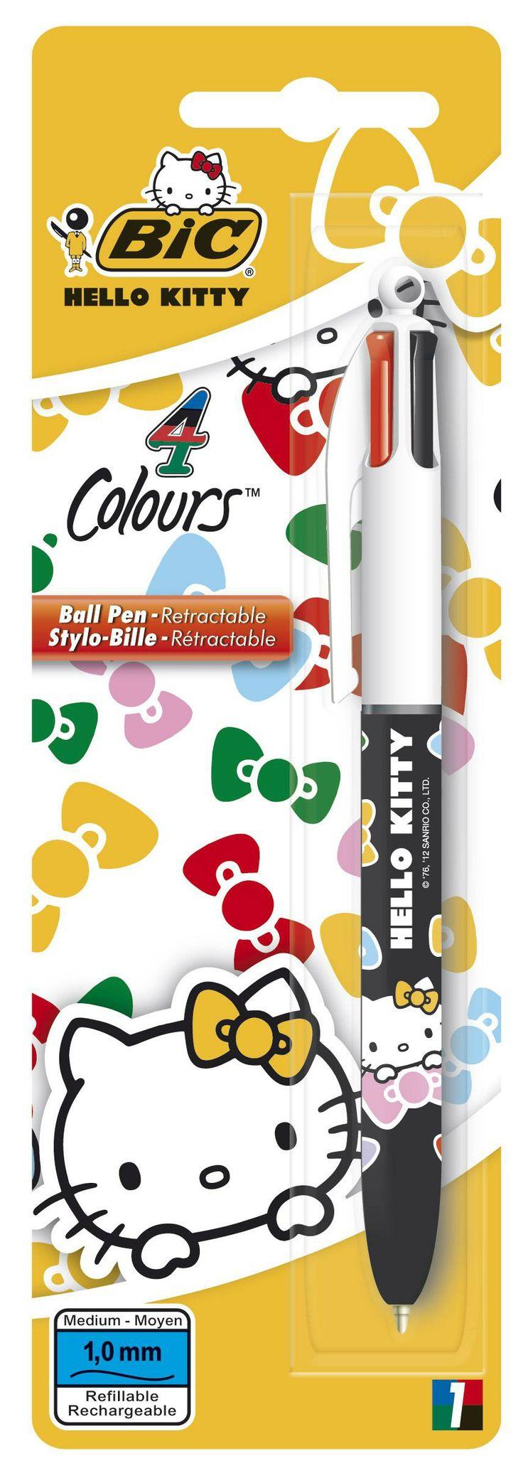Hello Kitty bolígrafo BIC 4 colores Bic MARCAS PAPELERIA PAPELERIA. Alco Distribuciones, distribuidor mayorista para toda España.