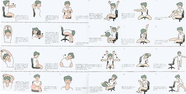 I came across this series of exercises that can be done while sitting down at work a little while ago, but I've been waiting until I had time to go through the exercises before putting it up.  The phrase 'chained to a desk' is a common one, but it fits a lot of people. Sitting exercises at …