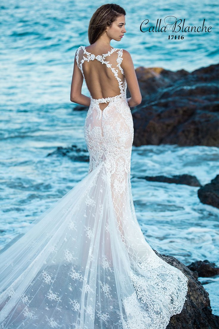 The 26 best Calla Blanche images on Pinterest | Short wedding gowns ...