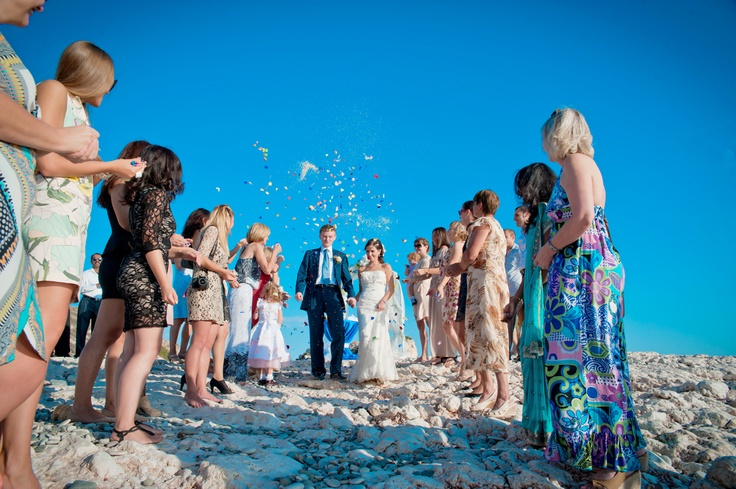 Wedding on the Aphrodite Birth place