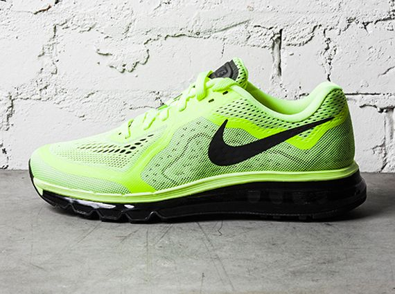 Nike Air Max 2014 - Volt - Black - SneakerNews.com