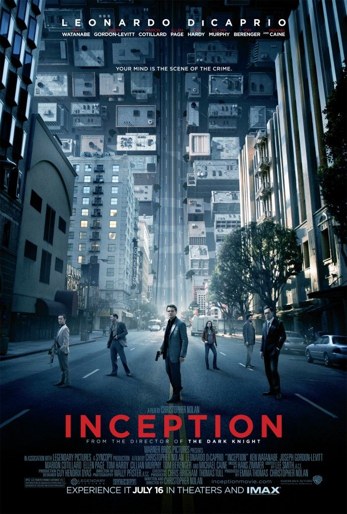 Inception. This movie was a trip!!