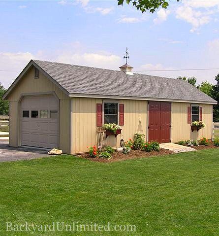 124 best storage sheds studios backyard retreats images for California garage plans