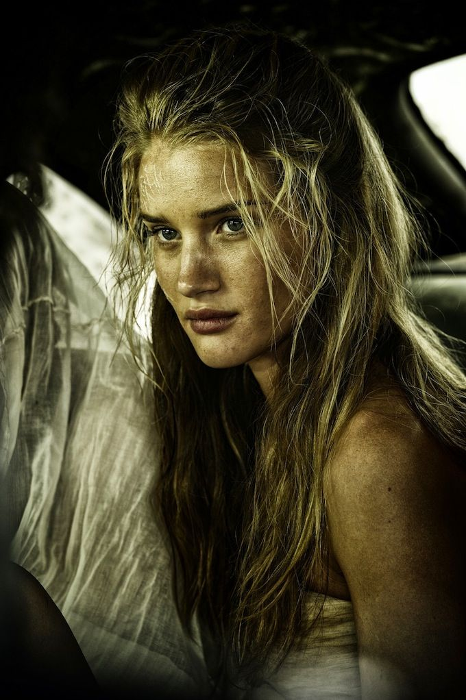 The women of Mad Max Fury Road - Rose Huntington-Whiteley