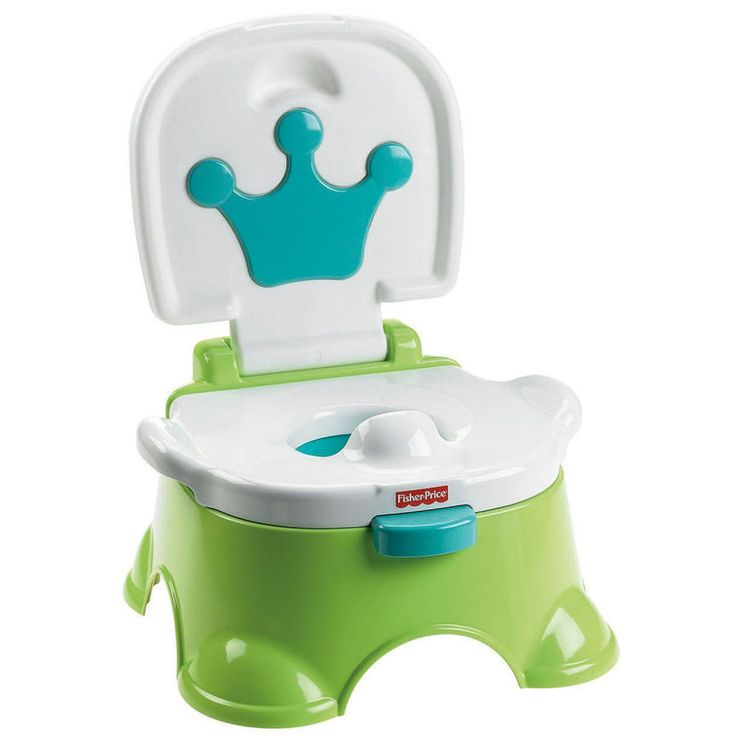Fisher-Price Royal Step Stool Potty