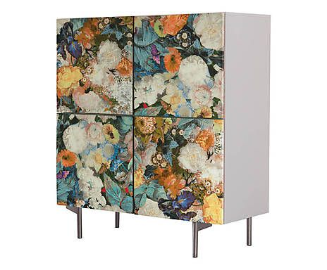 ikea furniture + temporary wallpaper?