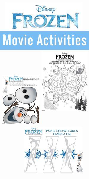 Disney's FROZEN Activities #DisneyFrozen: Snowflakes Templates For Kids, Good Life, Frozen Activities, Activities Disneyfrozen, Frozen Snowflakes Templates, Snowflakes Patterns For Kids, Activities For, Frozen Movie, Disney Frozen